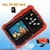 Underwater Camera for Kids, CrazyFire 12MP HD Waterproof Digital Camera Children Birthday Gift