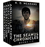 The Seamus Chronicles Books 1-4: Annihilation, Evacuation, Colonization & Confrontation