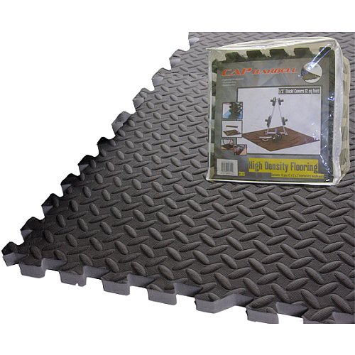 CAP Barbell Puzzle Mat (12-Inch x 12-Inch x 1/2-Inch)
