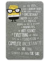 Funny Awesome Dad Father's Day Card with Attachment