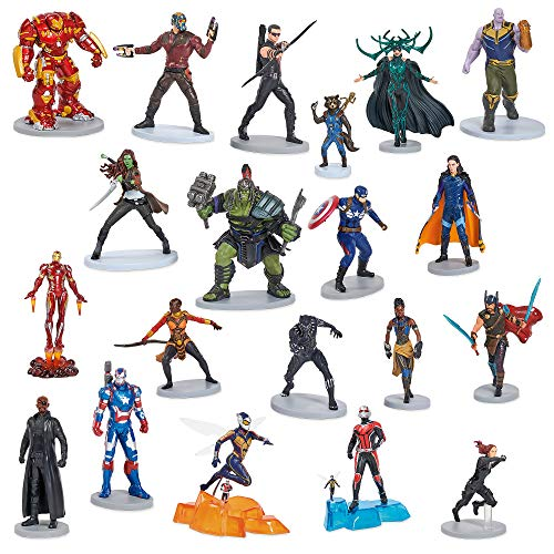 Marvel Universe Mega Figurine Set No Color