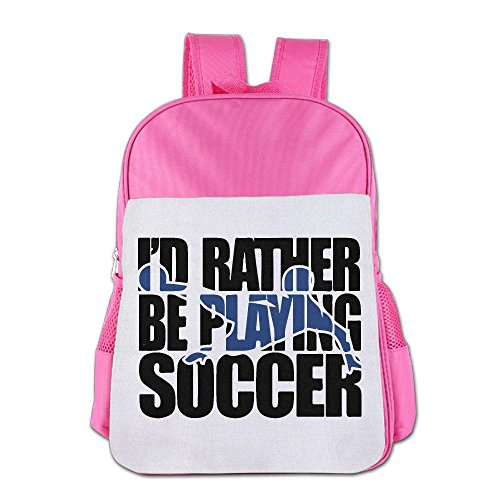 Soccer Game Ball Children's Backpack School Bag Suitable For 4-15 Year Olds