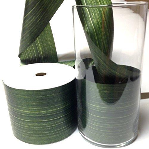 Aspid Ribbon Matte Moss Green. 4'' X 45 - Green Matte