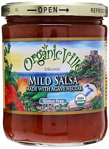 UPC 896859000526, Organicville Salsa Mild Agave Nectar Organic, 16 oz