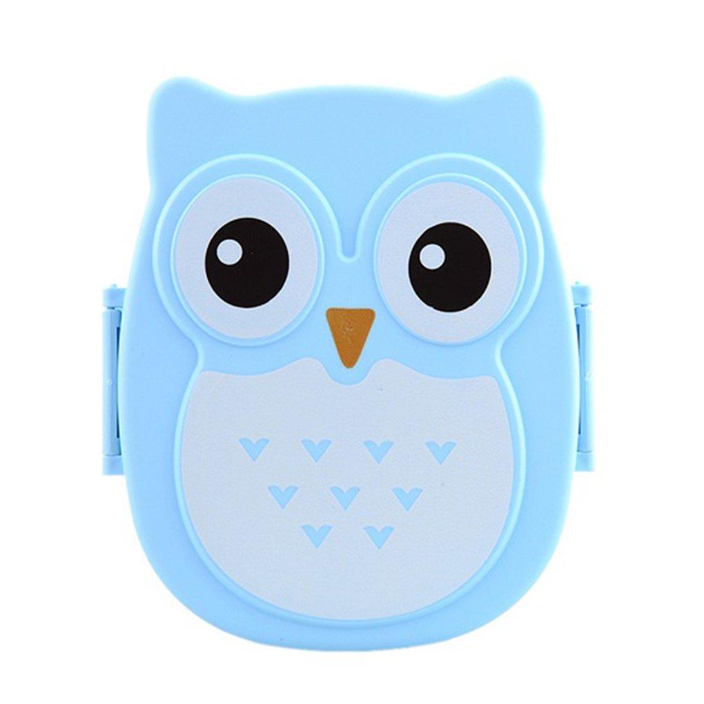 LUFA Cartoon Owl Bo/îte /à lunch Aliments Fruit Conteneur Bo/îte Portable Bento pique-nique Container Lunchbox