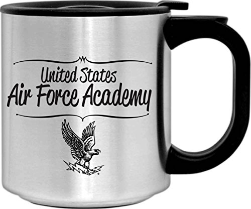 Academy United States Air Force - United States US Air Force Academy Falcons Stainless Steel Mug with Lid