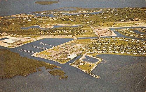 Postcard View Birdseye (Key Largo Florida Ocean Reef Club Birdseye View Vintage Postcard K87289)