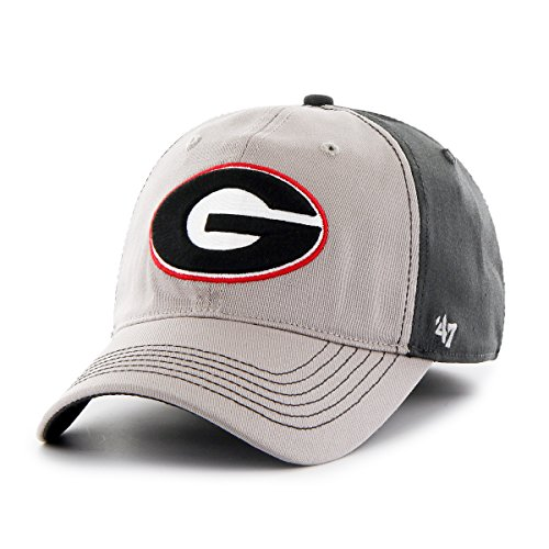 NCAA Georgia Bulldogs Umbra Closer Stretch Fit Hat, One Size Stretch, Dark Charcoal (Georgia Bulldog Hats Fitted Men compare prices)