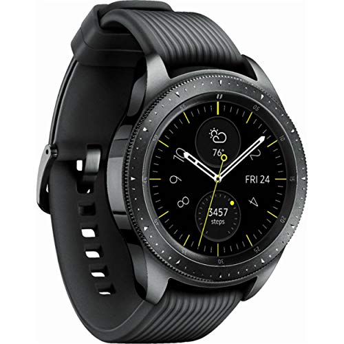 Samsung Galaxy Watch (42mm) Midnight Black (Bluetooth), SM-R815NZSCXAR (Renewed)