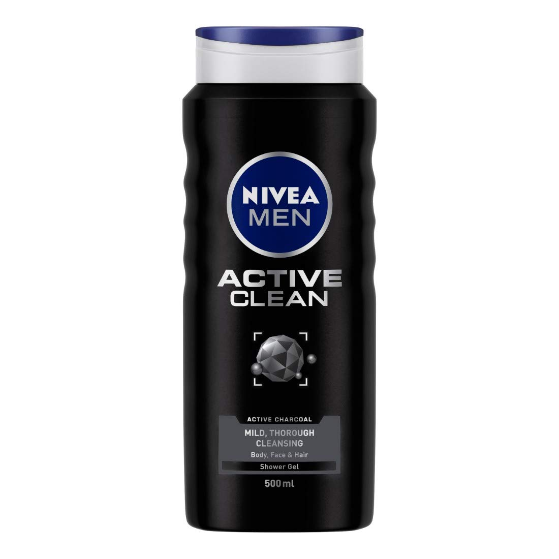 Buy NIVEA MEN Hair, Face & Body Wash, Active Clean Shower Gel