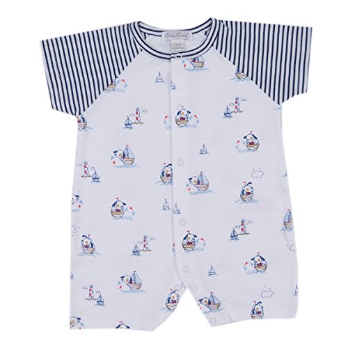 Kissy Kissy Baby-Boys Infant Harbor Master Short Playsuit