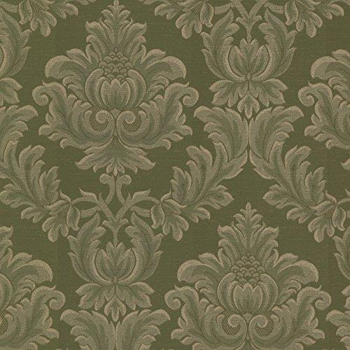(Mirage 2601-20802 Oldham Damask Wallpaper, Green )