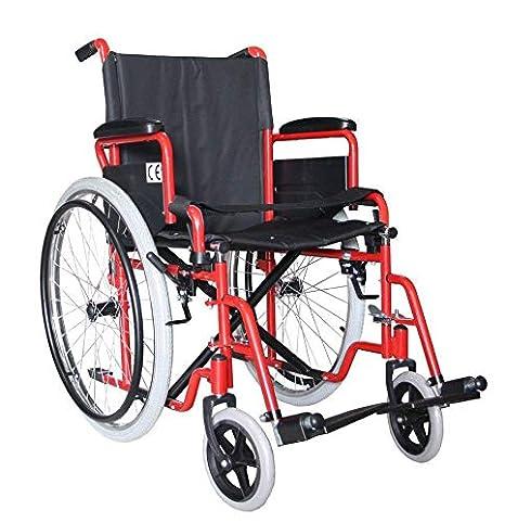 Sedia A Rotelle Pieghevole Leggera Ad Autospinta Carrozzina Per Disabili Ed Anziani Braccioli Ribaltabili E Poggiapiedi Estraibili Cintura Di