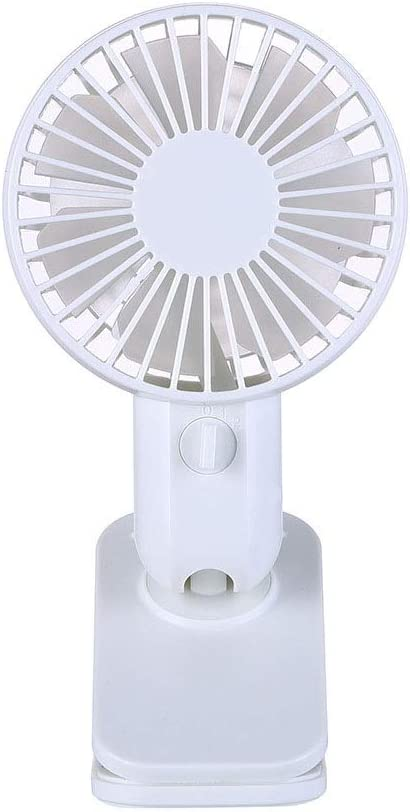 Quiet Operation Dygzh Mini Desktop Personal Fan Mini Desktop Fan on The Operating Clip USB Powered 120/° Rotating Clip in The Fan Quiet Home Office Bedroom 4 Colors Strong Wind in The Home Office