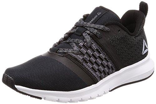 Reebok Women's Cm8685 Running Shoes, Violet Intense/Violet Pã¢Le/Rosh Flash/Blanc Black (Black/Ash Grey/White/Silver Black/Ash Grey/White/Silver)