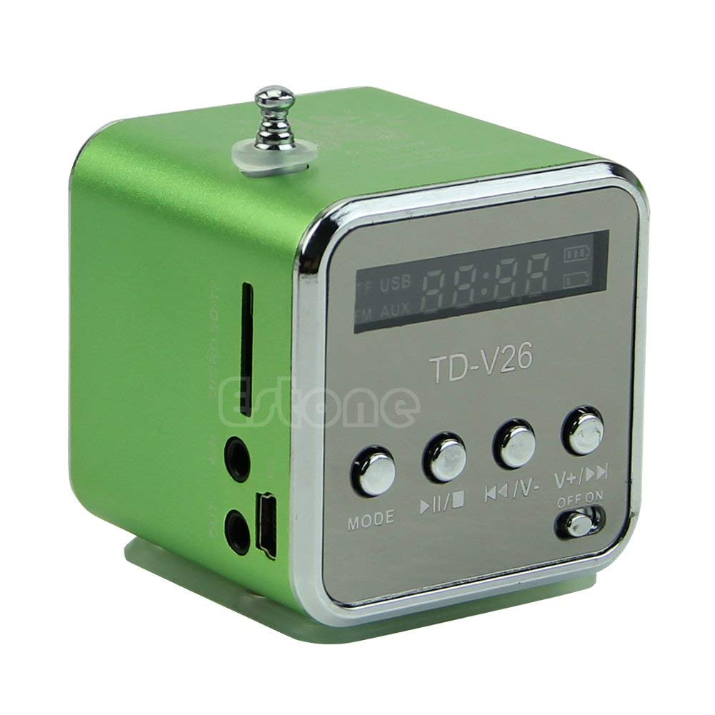 SimpleLife Mini Micro SD TF USB Altoparlante Lettore Musicale Radio FM Portatile Stereo Piece mp3