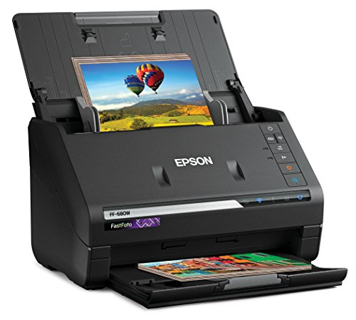 Big Save! Epson FastFoto FF-680W Wireless High-speed Photo and Document Scanning System (Renewed)