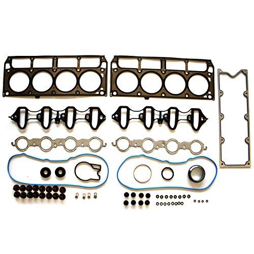 SCITOO Head Gasket Set Fits 2002-2011 4.8L 5.3L GMC Chevrolet Cadillac Isuzu V8 OHV VIN T V Z M