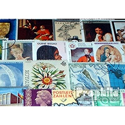 All World 100 Different Special Stamps Out Different Collection Areas (Stamps for Collectors): Toys & Games