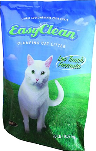 - Pestell Pet Products Easy Clean Low-Track Scoopable Litter, 20-Pound Bag