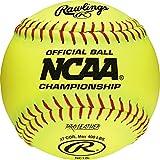 Rawlings Baseball Balls Softballs NC12L 12'' Official NCAA Champio