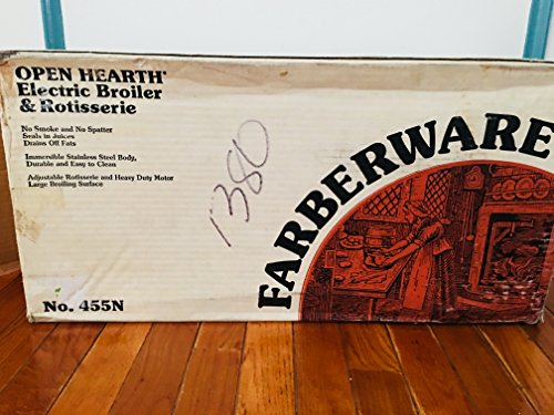 (Farberware Open Hearth Broiler & Rotisserie)