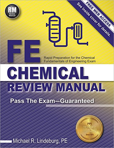 Pdf Engineering FE Chemical Review Manual