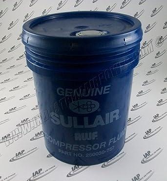 250030 - 757 lubricante, AWF - 5 gallon - diseñado para uso con sullair compresores de aire: Amazon.es: Amazon.es