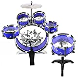 PowerTRC Musical Instrument Drum Playset Blue