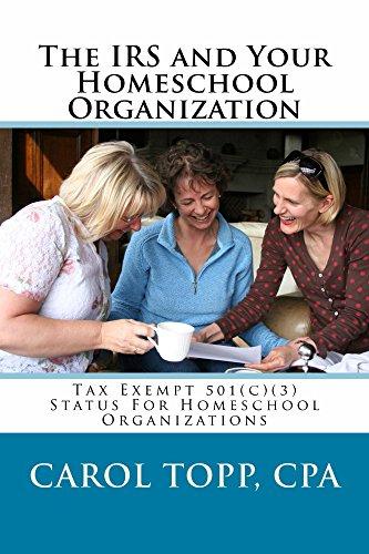 IRS Your Homeschool Organization Organizations ebook