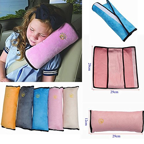 1pc High Practicability Multifunctional Baby Car Seat Belt Cushion of Car Playpens Headrest Pillow for Baby Kids Seat Belt Pad Cover by Samy Best (Image #1)