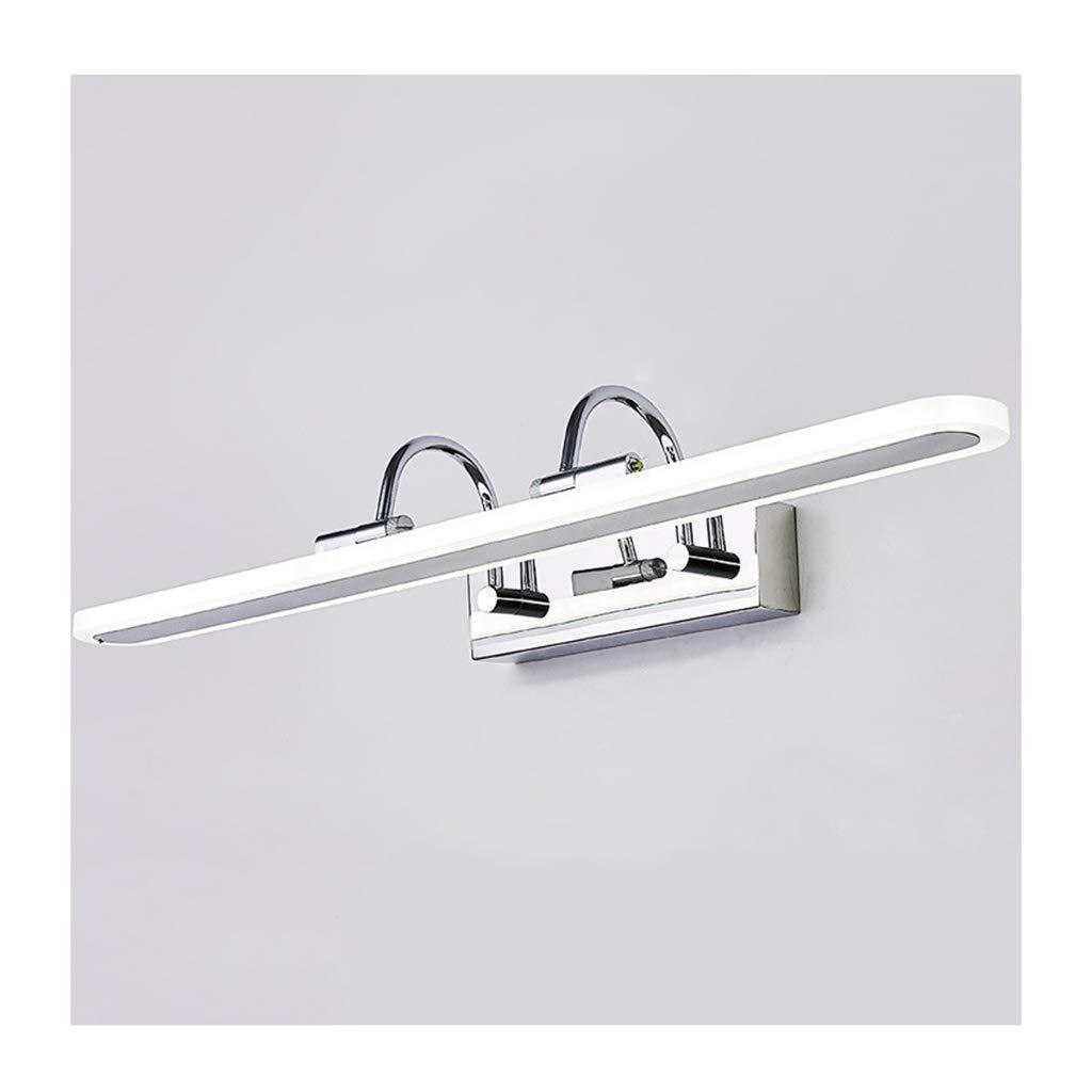 badezimmerlampe Spiegel Frontleuchte, Led Badezimmer Make-Up Lampe Bad Spiegel Kabinett Licht Wasserdicht Anti-fog Spiegellicht (Größe   55CM)
