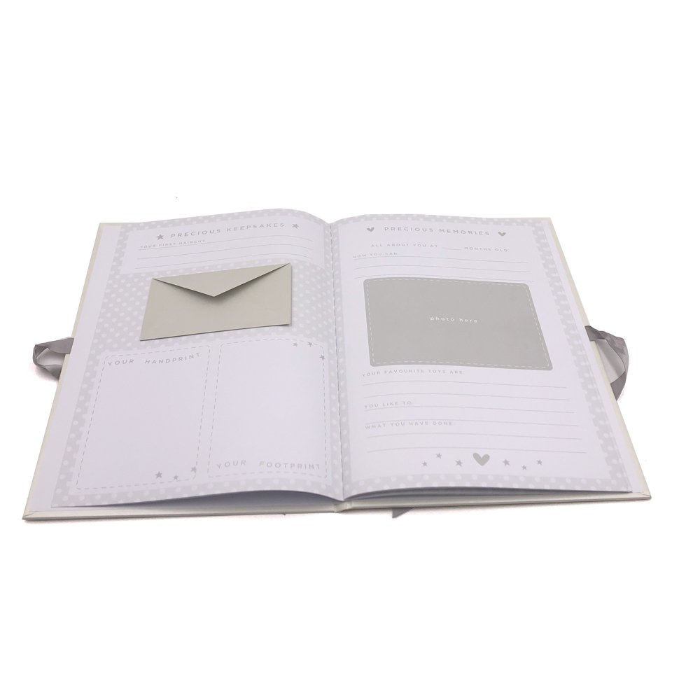Personalised Baby Keepsake Journal Book Twinkle Twinkle Little Star