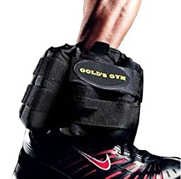 Ankle Weights (Adjustable) By: Gold Gym