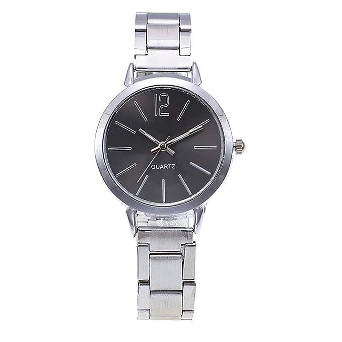 Darringls_Reloj,Relojes Mujer Moda Reloj de Pulsera Redondo de ...
