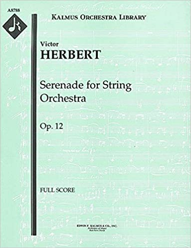 Serenade for String Orchestra, Op.12: Full Score [A8788]