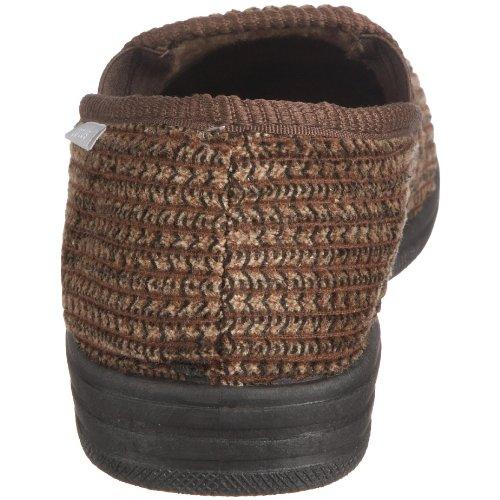 Lotus - Zapatillas de casa para hombre Marrón