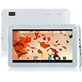 10.1'' Quad Core Google Android 4.4 KitKat Tablet Computer PC Dual Camera,HD 1024x600 Multi-touch Screen,8GB Nand Flash,Bluetooth,Google Play Pre-loaded,Wifi (White)