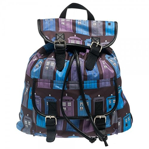 Doctor Who Tardis Knapsack/Backpack