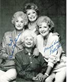 #10: The Golden Girls Cast Signed Autographed 8 X 10 Reprint Photo - Mint Condition