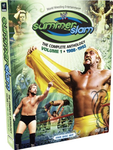 WWE: Summerslam - The Complete Anthology, Vol. 1 1988-1992 (Macho Man Randy Savage Best Matches)