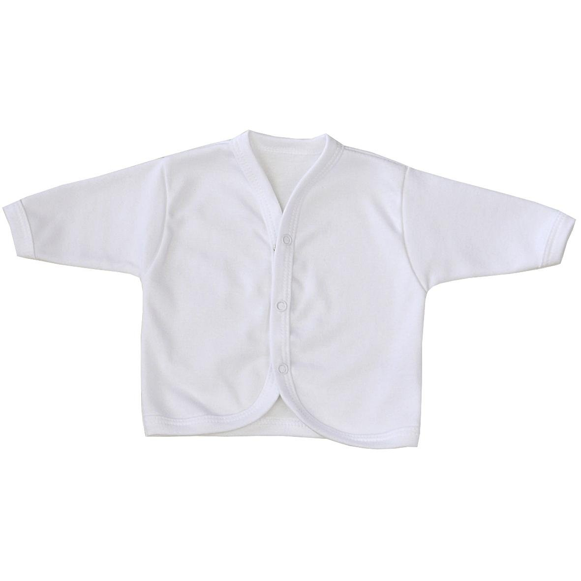 Amazon.com: BabyPrem Baby Cardigan Jacket Plain Cotton Clothes ...