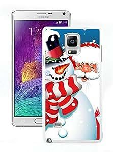 Design for Mass Customization Santa Claus White Samsung Galaxy Note 4 Case 12