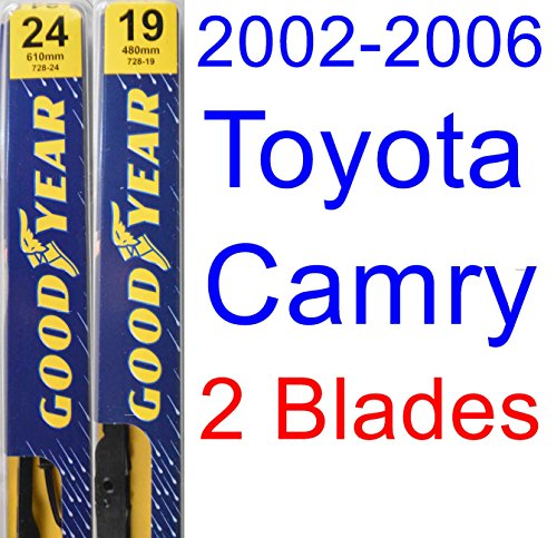 2002 2006 toyota camry replacement wiper blade set kit set of 2 blades goodyear wiper blades. Black Bedroom Furniture Sets. Home Design Ideas