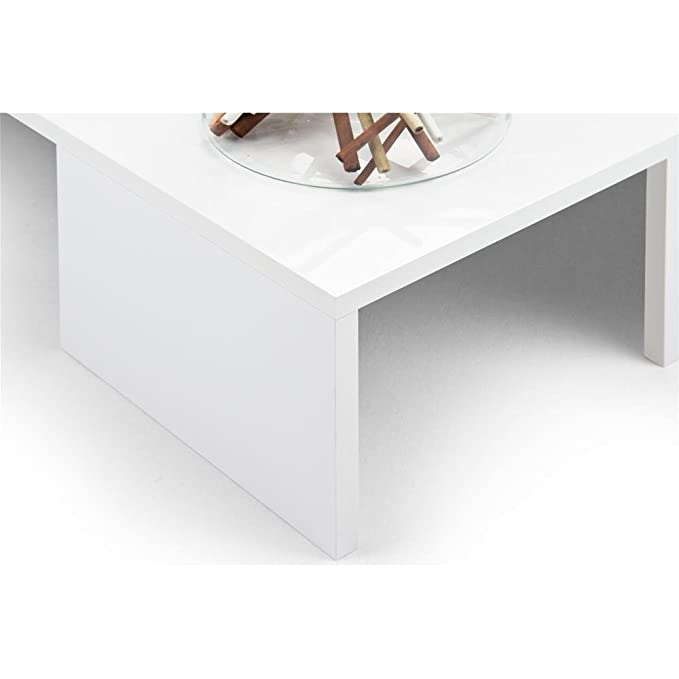 Mobili Fiver Mesa DE Centro Blanco Brillante Mod. Rachele