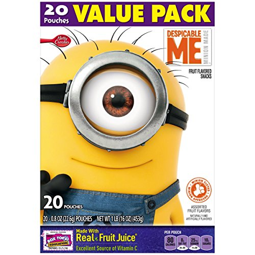 Betty Crocker Fruit Snacks Despicable Me Fruit Flavored