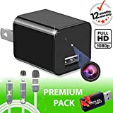 Spy Camera - Hidden Camera - Premium Pack - HD 1080P - Motion