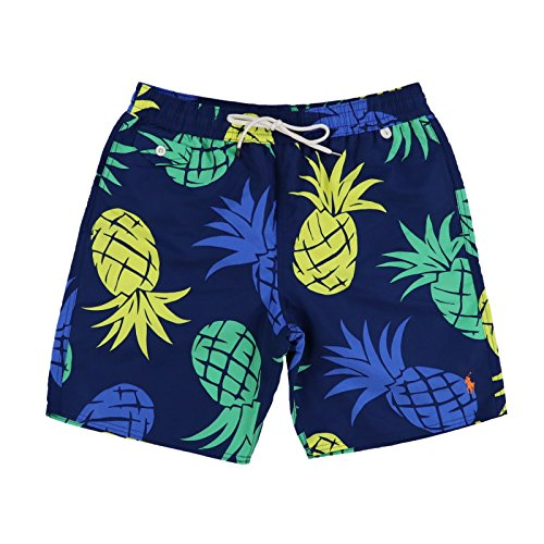 (Polo Ralph Lauren Men's Bathing Suit Bottom (Medium, Island Aqua))