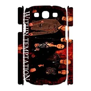 Samsung Galaxy S3 I9300 Phone Case Within Temptation F5K6911