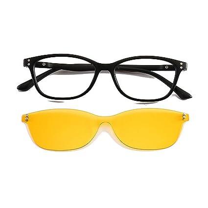 Tonos de moda Gafas de sol estilo retro de una sola pieza ...